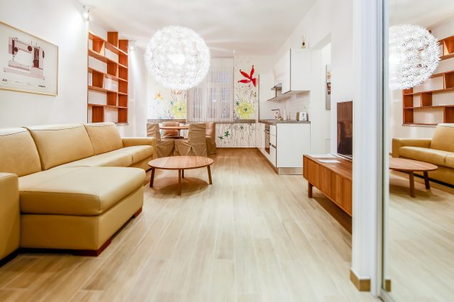 Apartment 001 / 003 / 104 / 204 (4-5 persons)