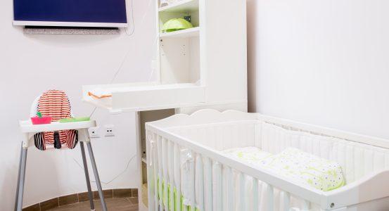 Apartma s sobo za dojenčke 204 / 200 (2-4 osebe + soba za dojenčke)